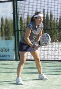 Carolina Navarro en el Cerrado del Aguila