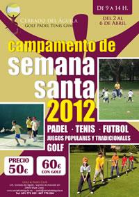 Campamento Semana Santa 2012 en el Cerrado del Aguila