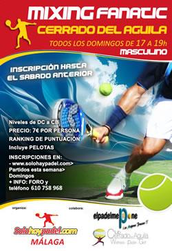 Club de padel y tenis Cerrado el Aguila - Mijas Fuengirola Malaga Costa del Sol