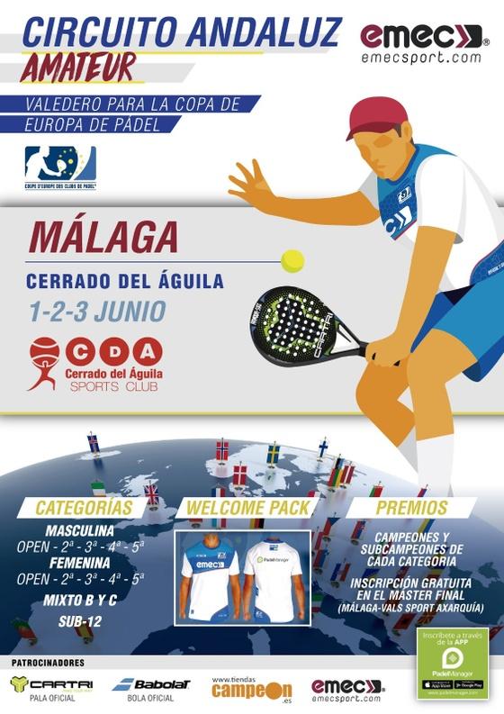 Open ciudad de Málaga Circuito Andaluz Amateur