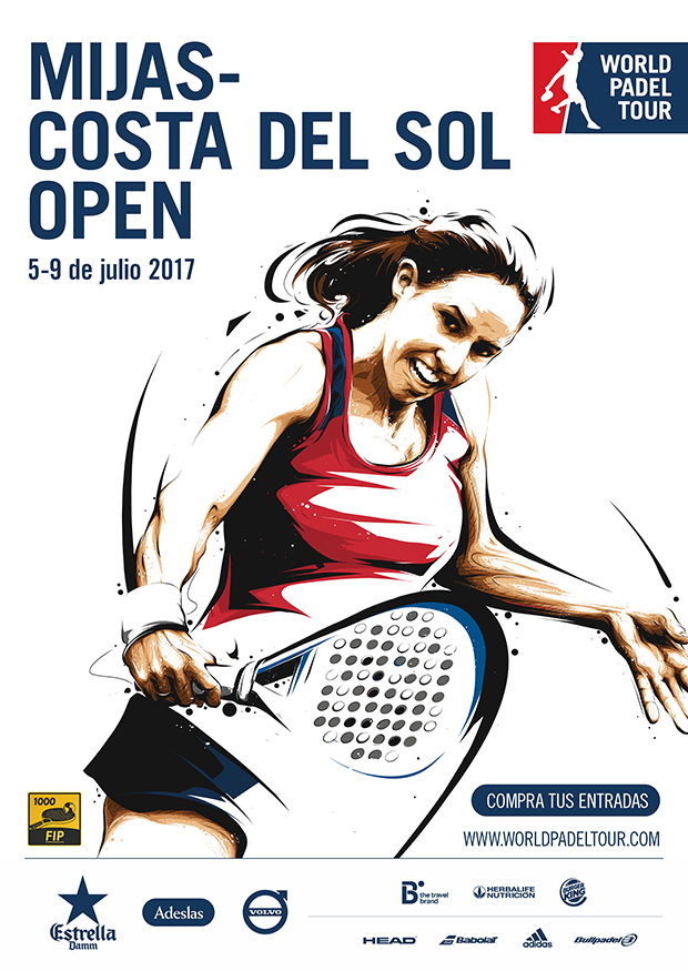 cartel world padel tourcerveza-victoria-mijas-costa-del-sol-open-