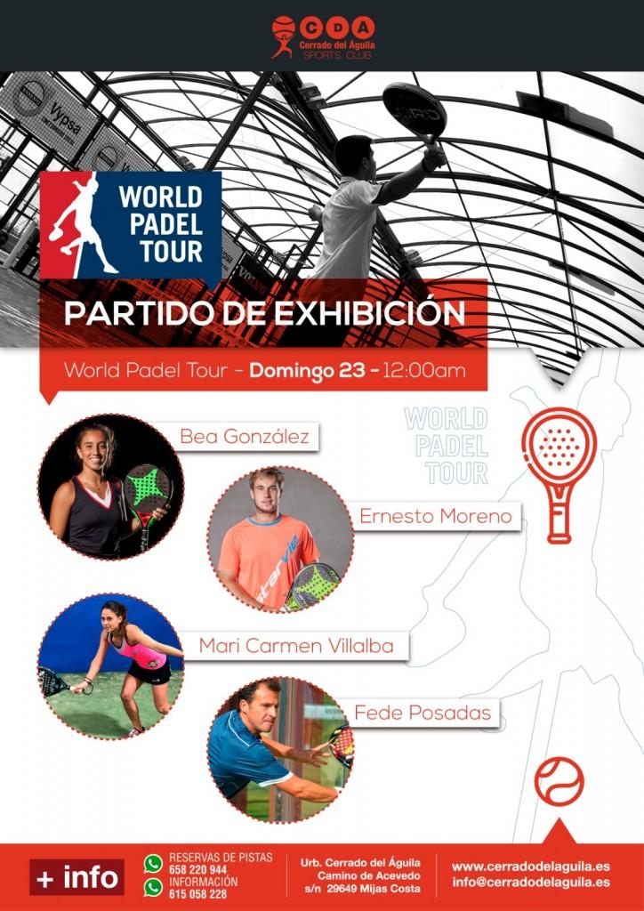 partido exhibición world padel tour cerrado del águila