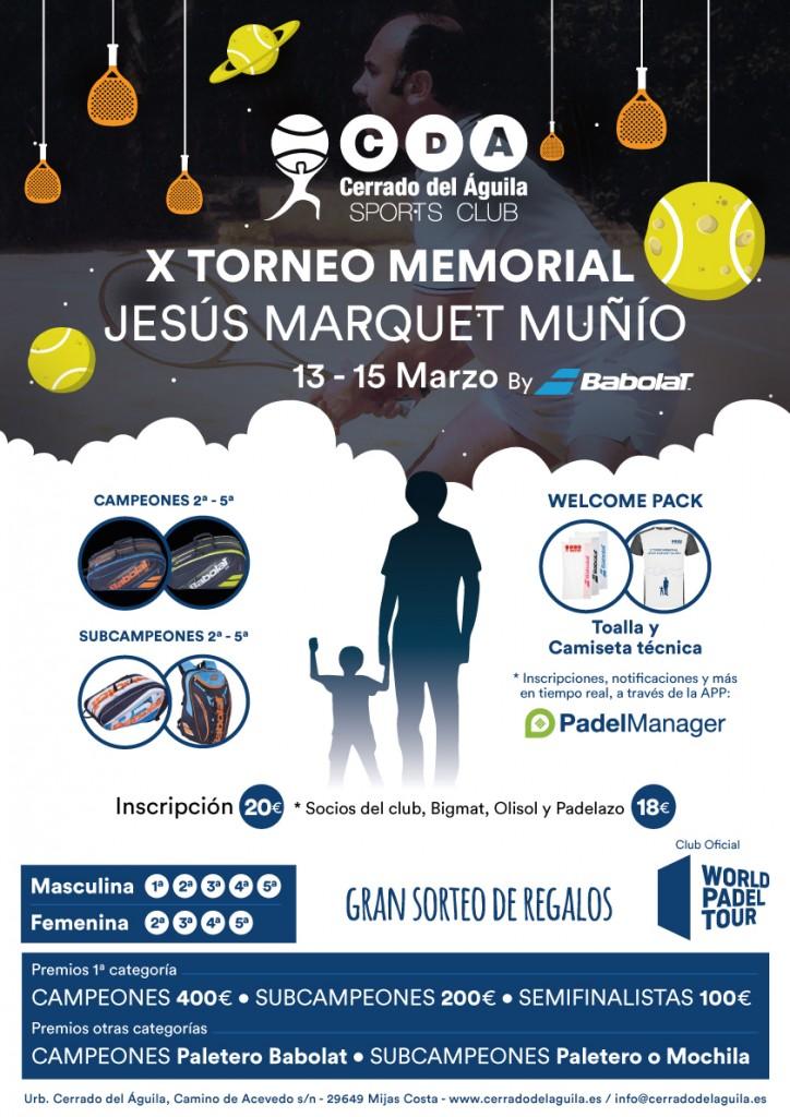 x torneo memorial jesus marquet
