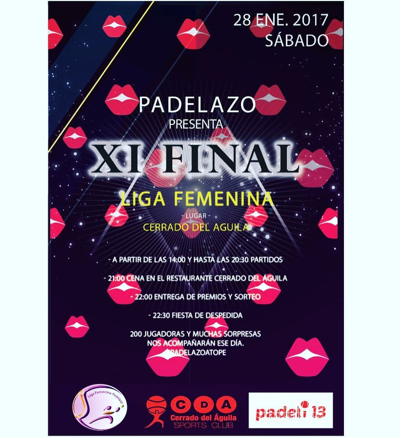 final liga femenina padelazo