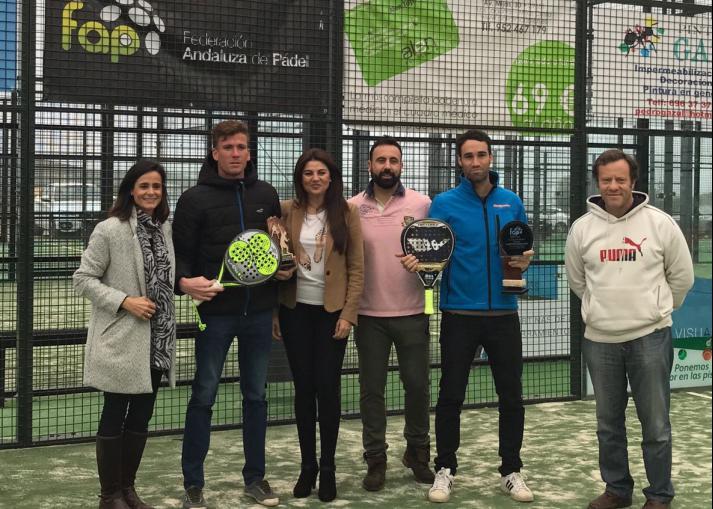 Ganadores x Copa de Andalucia de padel