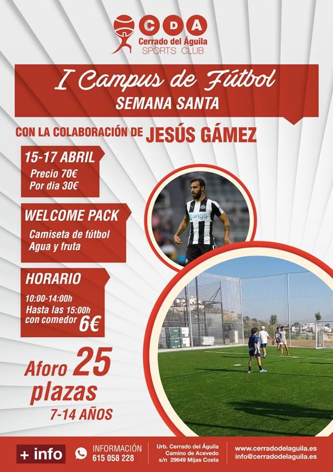 I Campus de Fútbol Club Cerrado del Águila