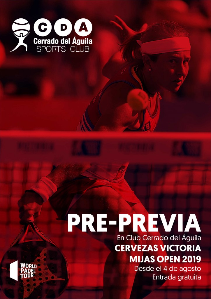 Partidos previa club cerrado del aguila world padel tour world padel tour mijas open 2019