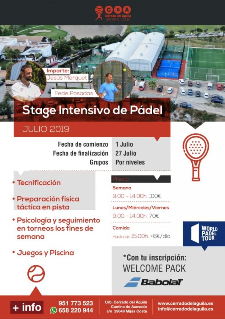 Stage intensivo de pádel Cerrado Del águila verano 2019 (2)