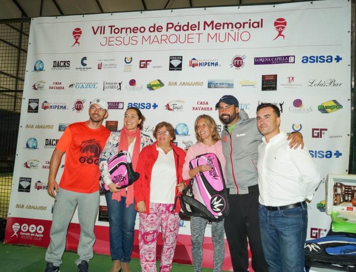 VII Torneo de Pádel Memorial Jesús Marquet Muñío