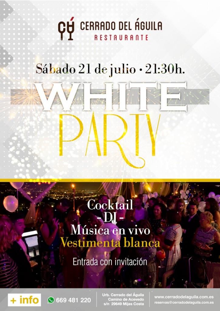 Fiesta White Party Cerrado del Aguila IX Aniversario