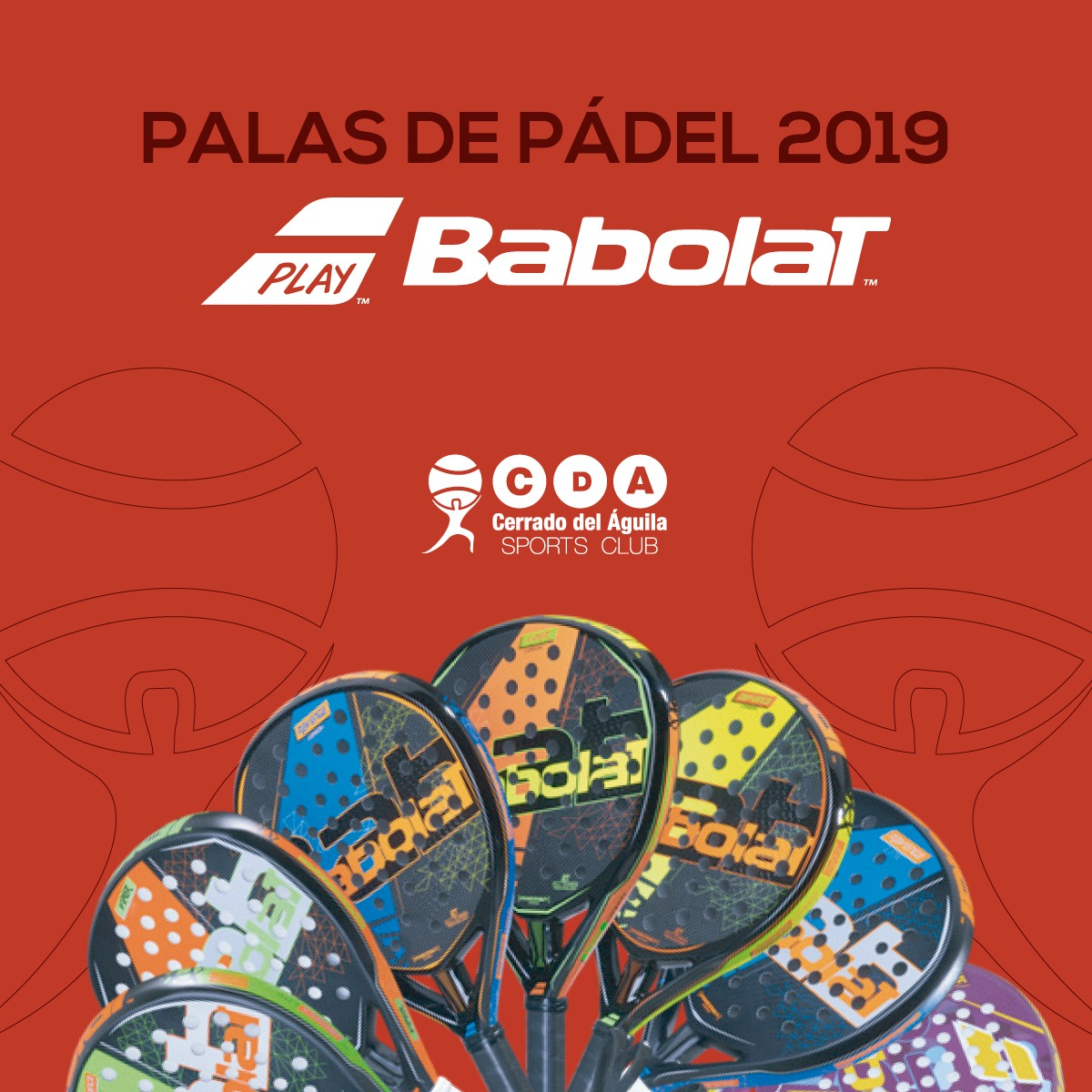palas babolat 2019