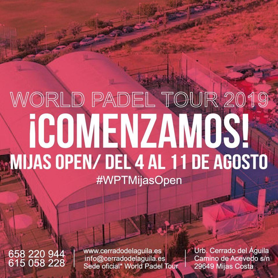Comienza Wold Padel Tour Mijas Open