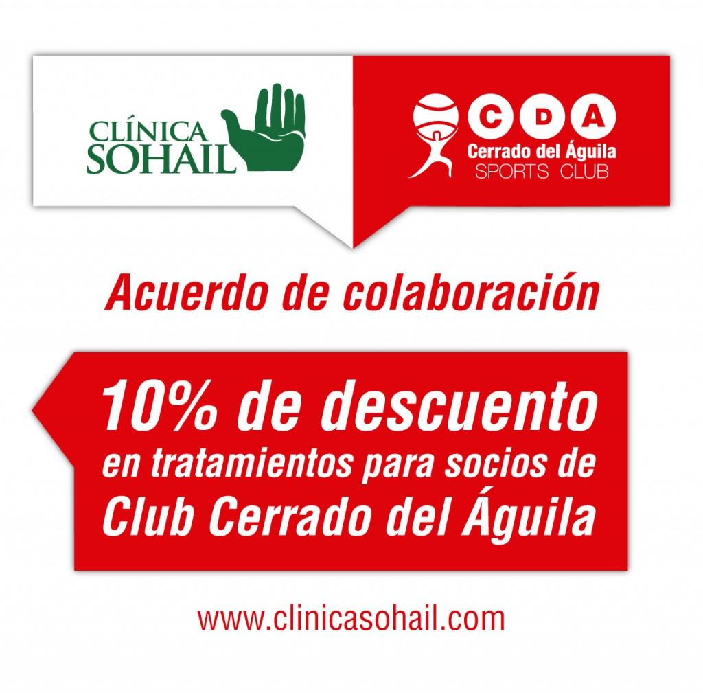 Acuerdo colaboración cerrado del águila clínica sohail
