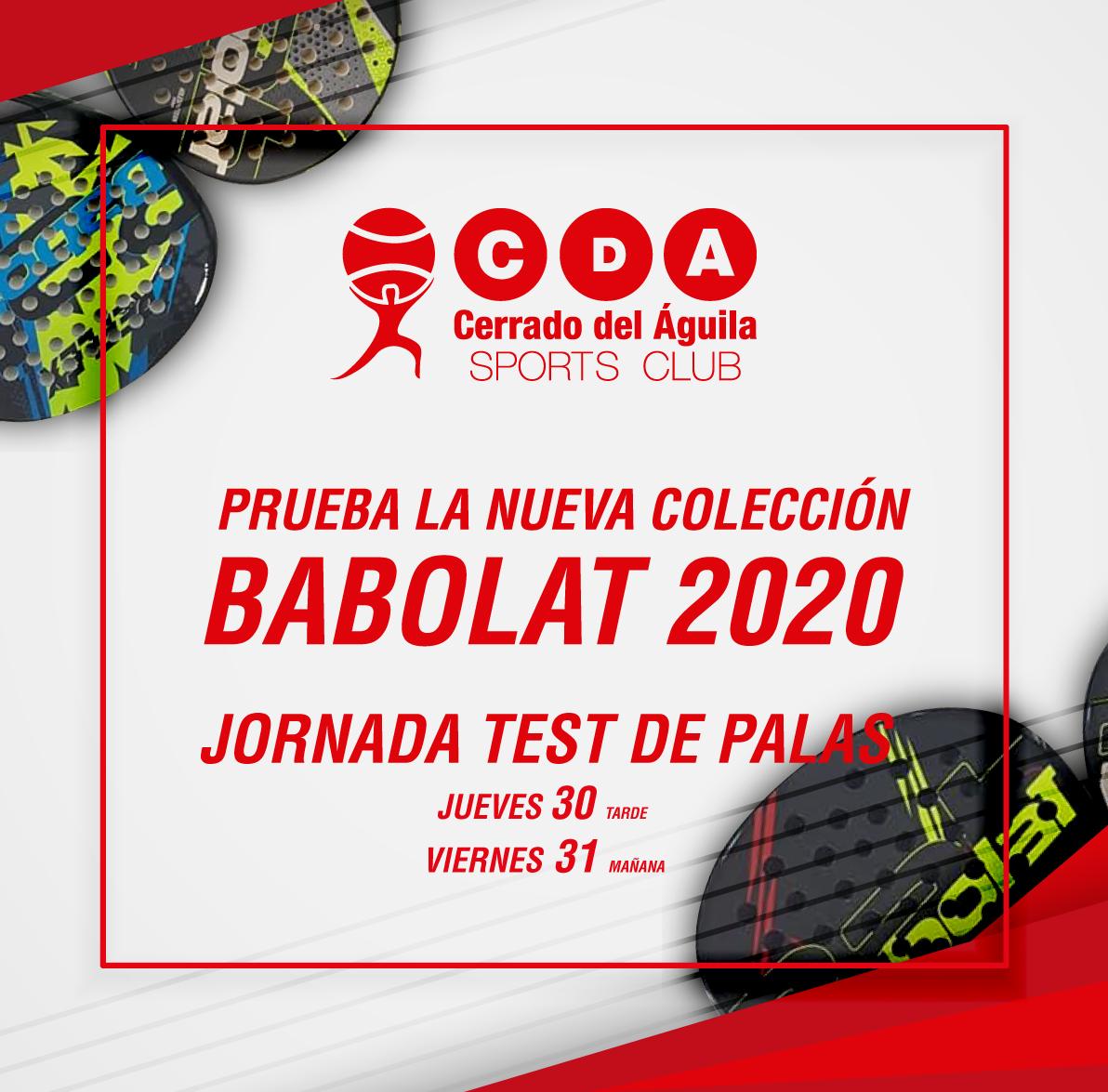 test palas babolat 2020