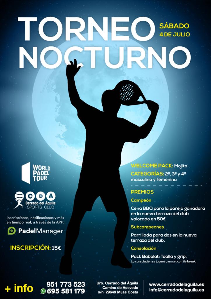 Torneo Nocturno Sábado 4 de Julio