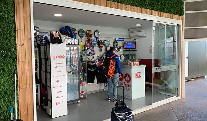 Tienda de Pádel y Tenis en Cerrado del Águila